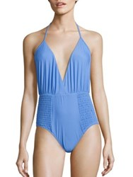 6 Shore Road Coast One Piece Swimsuit Allure Blue