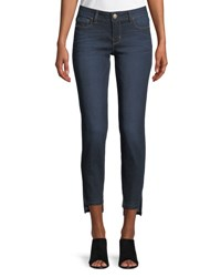 Dex Highline Skinny Ankle Jeans Blue
