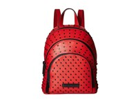 Kendall Kylie Sloane Mini Studded Backpack Ruby Red Backpack Bags