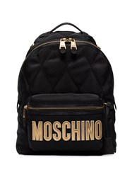 Moschino Quilted Logo Backpack 60