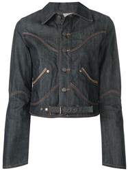 Jean Paul Gaultier Vintage Denim Jacket Blue