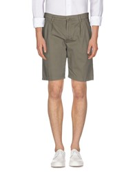 Aspesi Trousers Bermuda Shorts Men Grey