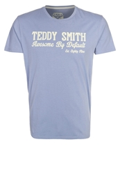 Teddy Smith Tuloa Print Tshirt Blue Purple