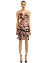 Vivienne Westwood Wilma Jacquard Cocktail Dress Pink