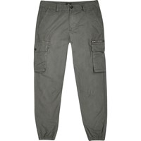 River Island Charcoal Cargo Trousers Grey