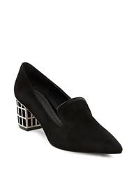 Brian Atwood Kendal Point Toe Pumps Black