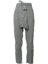 Nsf Straight Trousers Grey