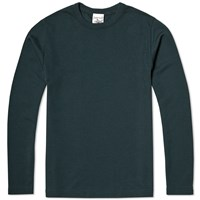 Sns Herning S.N.S. Herning Long Sleeve Helix Tee Blue