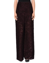 Valentino Trousers Casual Trousers Women Deep Purple