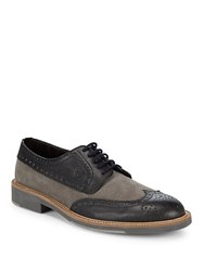 Canali Brogue Dress Shoes Brown