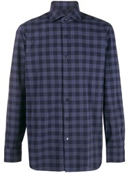 Barba Checked Front Buttoned Shirt 60