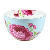 Pip Studio Floral Bowl Blue 23Cm