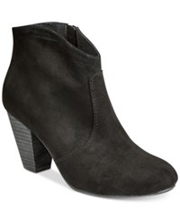 Report Marque Ankle Booties Women's Shoes Black
