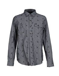 Lrg Shirts Steel Grey