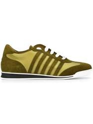 Dsquared2 'New Runner' Sneakers Green