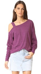 Free People Saratoga Top Mulberry