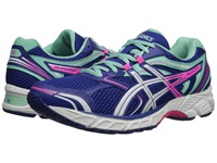 Asics Gel Equation 8 Dazlling Blue White Hot Pink Women's Running Shoes Green