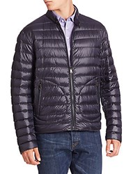 Ralph Lauren Purple Label Solid Quilted Jacket Litchfield