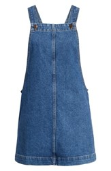 Bdg Urban Outfitters Gaia Denim Pinafore Dress