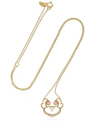 Ruifier Animaux Koko Gold Necklace