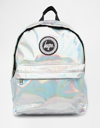 Hype Holographic Backpack Si1silver1
