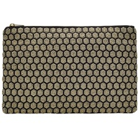 John Lewis Honeycomb Pouch Gold