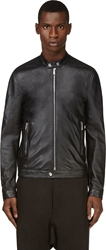 Dsquared Black Lambskin Jacket