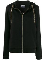 Versace Jeans Chunky Chain Cardigan Black
