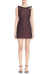 Marc Jacobs Women's Embellished Rose Jacquard Dress