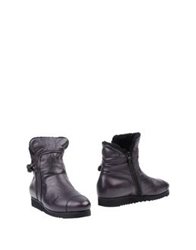 Alexander Hotto Ankle Boots Dark Purple