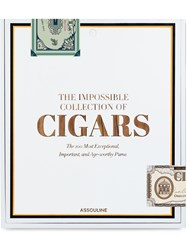 Assouline The Impossible Collection Of Cigars 60
