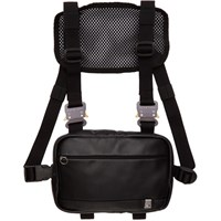 Alyx Black Mini Leather Chest Rig