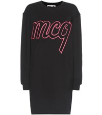 Mcq By Alexander Mcqueen Cotton Sweater Dress Black