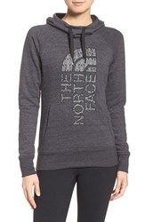 The North Face Women's French Terry Hoodie Tnf Black