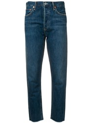 Citizens Of Humanity Straight Leg Jeans Blue