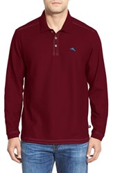 Tommy Bahama Men's Big And Tall 'Emfielder' Long Sleeve Polo