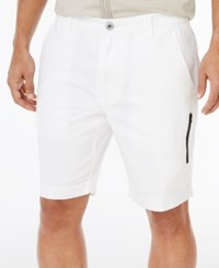 Inc International Concepts Men's Alexander Shorts Only At Macy's White Pure