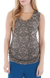 Women's Everly Grey 'Maggie' Maternity Tank Henna