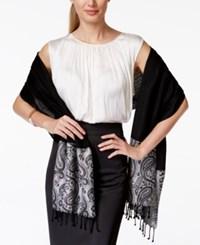 Styleandco. Style And Co. Paisley Border Evening Wrap Only At Macy's