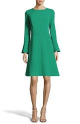 Eci Women's Fit And Flare Dress Green
