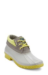 G.H. Bass Women's And Co. Dorothy Waterproof Duck Boot Grey Grey