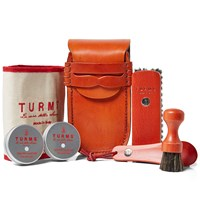 Turms Hand Stitched College Care Kit Red
