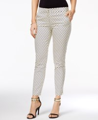 Xoxo Juniors' Printed Skinny Pants Cobalt Yellow Multi