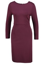 Khujo Orega Jersey Dress Sassafras Bordeaux