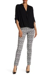 Insight Printed Techno Pull On Pant Blue