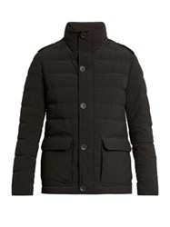Herno Waterproof Quilted Down Field Jacket Black