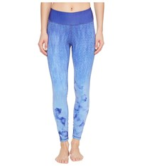 Prana Roxanne Printed Legging Lavender Bloom Women's Casual Pants Blue
