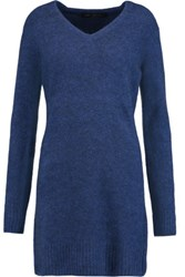 Marc By Marc Jacobs Merino Wool Blend Sweater Dress Storm Blue