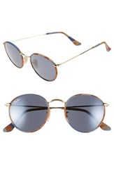 Men's Ray Ban 50Mm Retro Sunglasses Gold Camouflage Grey