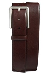 Mezlan Men's Vaqueta Leather Belt Brown